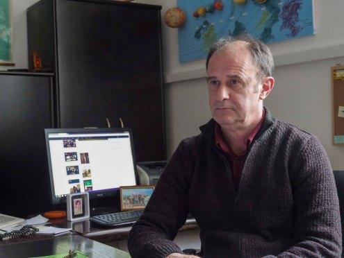 Direktor, Elmedin Lukač, Škola za metalska zanimanja
