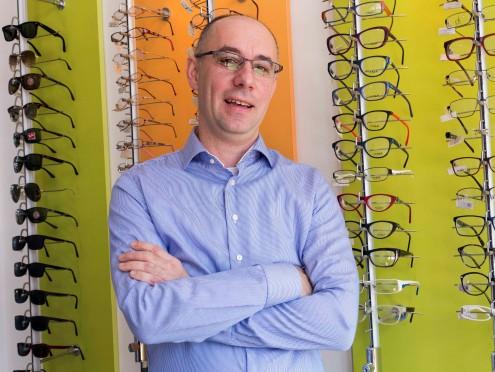 Nebojša Savić, optičar iz Sarajeva