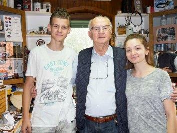 Fahrudin Sofić sa Azerom i Almom