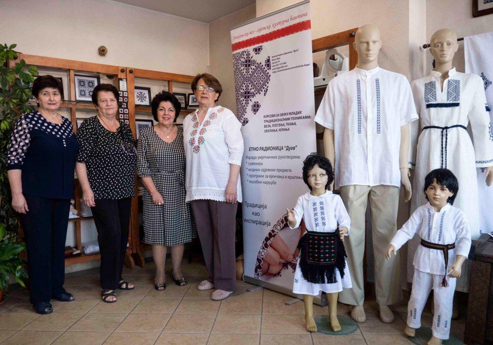 Mirjana Palija, Božica Ramić, Galina Marjanović i Vera Stefanović