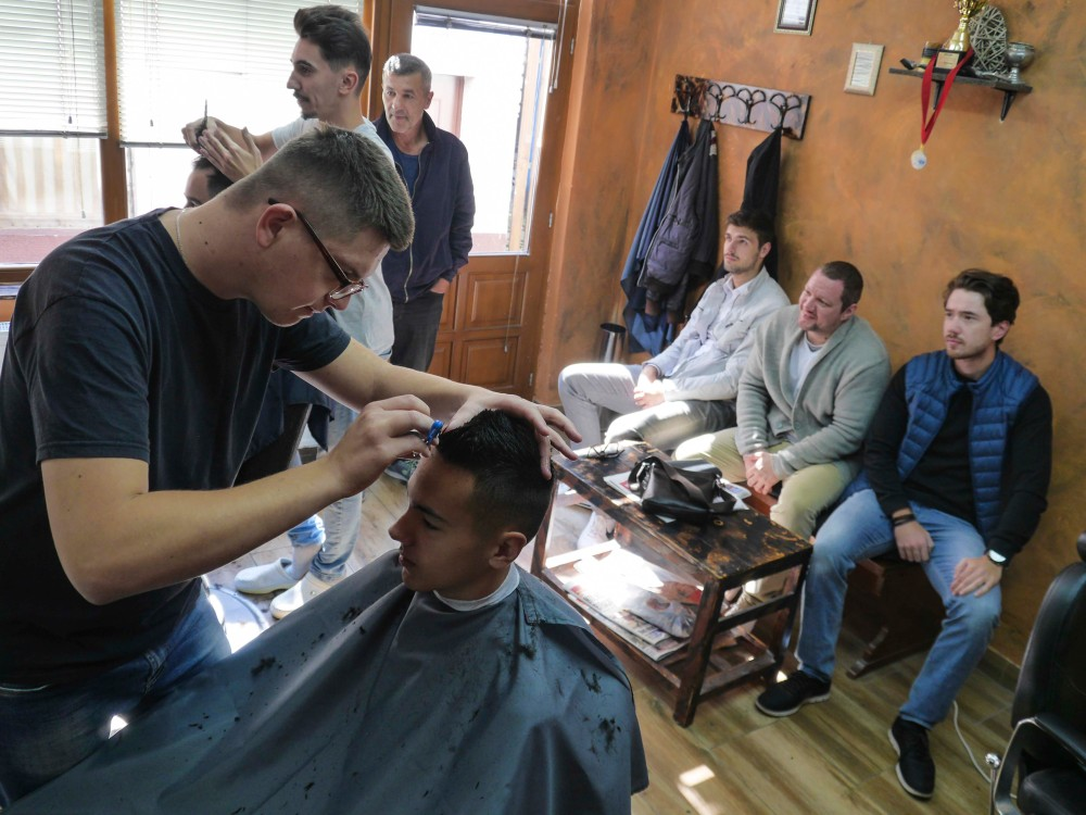 Salon i mušterije
