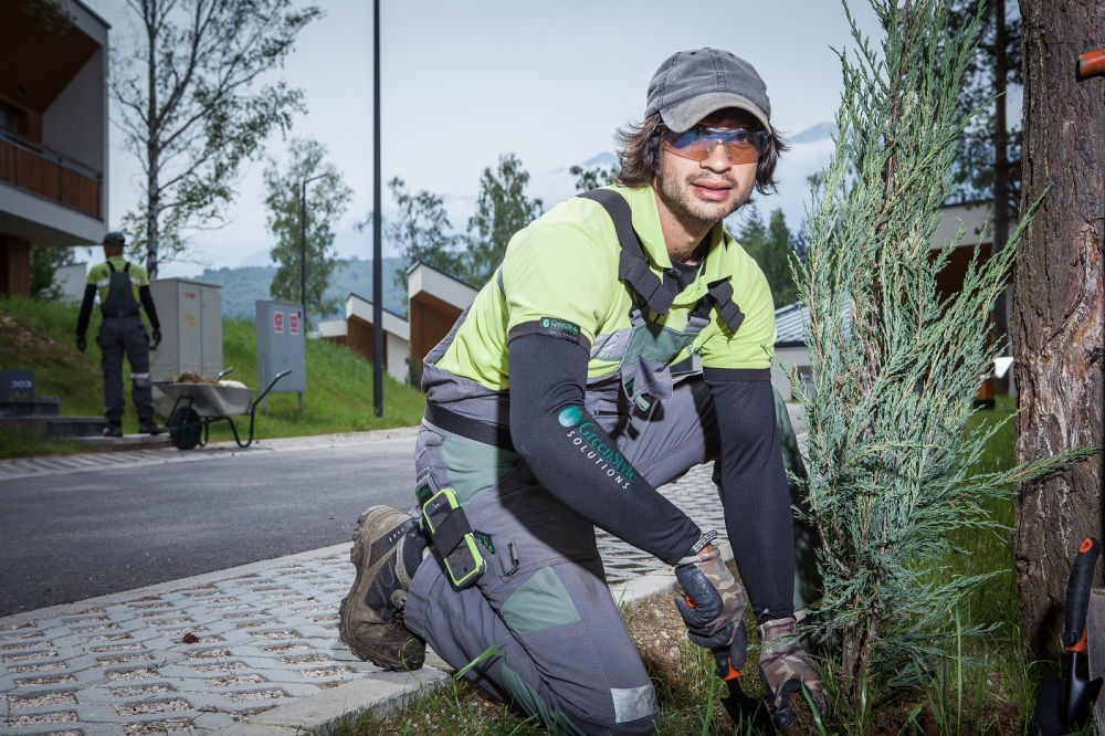 Foto: Green Style Solutions - Nijaz Hukić na radnom zadatku
