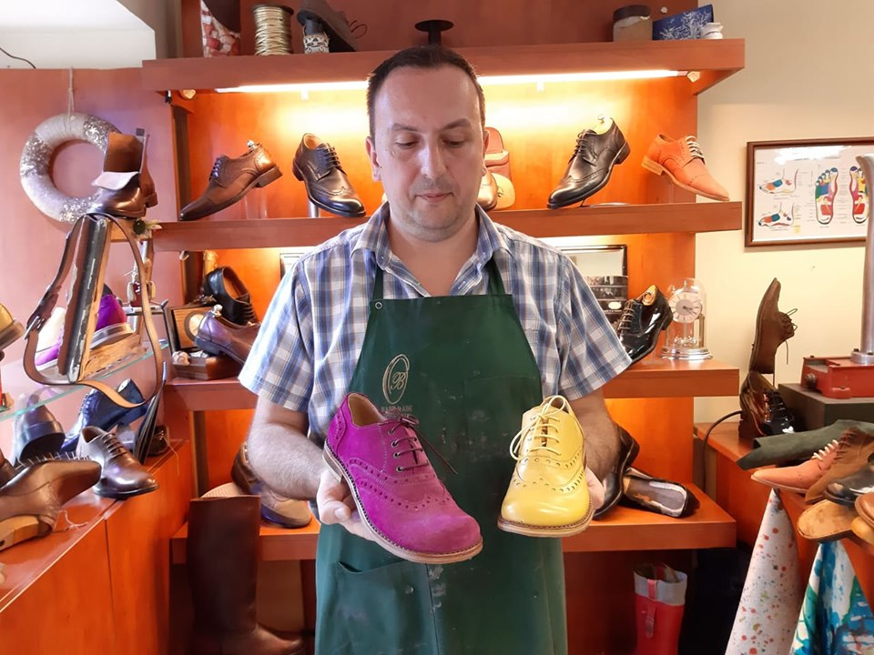 Foto: Udar, obućar Osman Balić